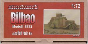 Bilbao Panzerwagen 1932 von STEELWORK ( SK 7201 )