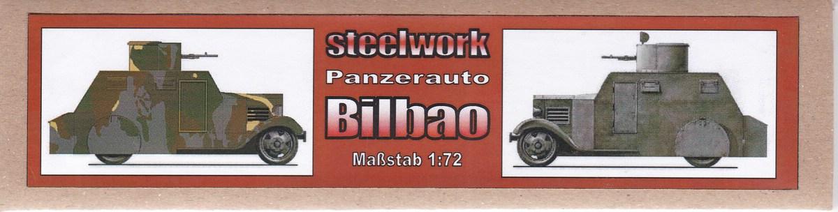 STEELWORK-SK-7201-Bilbao-Panzerwagen-1932-4 Bilbao Panzerwagen 1932 von STEELWORK ( SK 7201 )