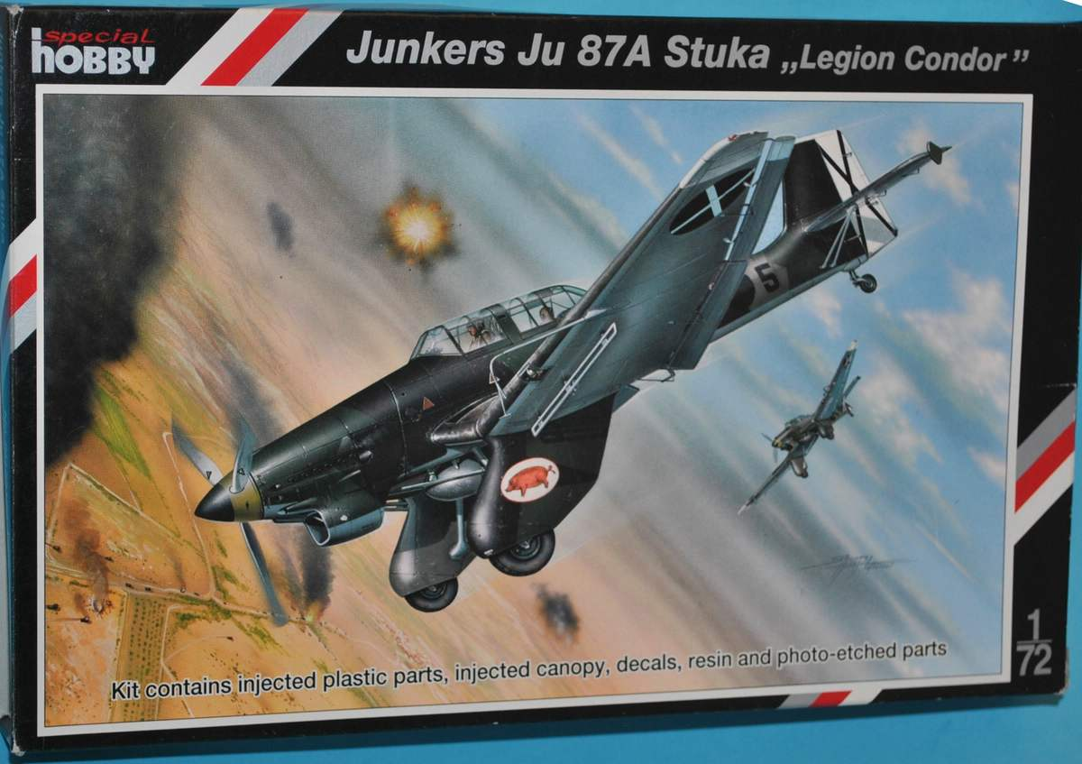 Special-Hobby-SH-72123-Ju-87-A-15 Junkers Ju 87 A von Special Hobby (# SH 72123 )
