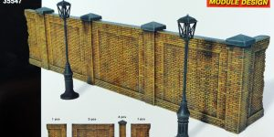 Brick Wall 1:35 Miniart (35547)