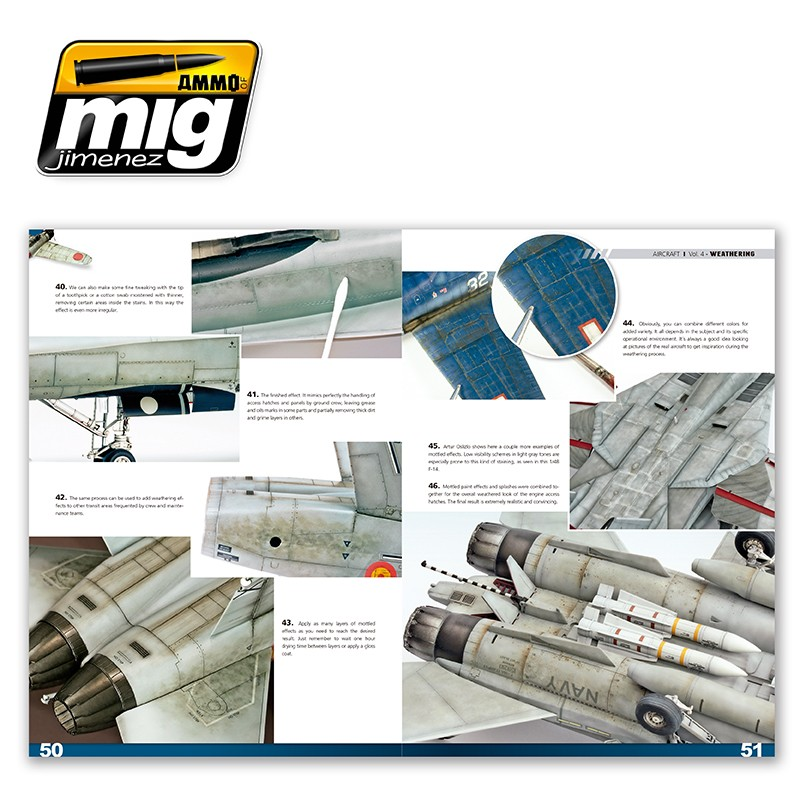 Ammo-of-Mig-Encyclopedia-of-aircraft-modelling-techniques-vol4-weathering-english-3 Encyclopedia of aircraft modelling techniques: WEATHERING