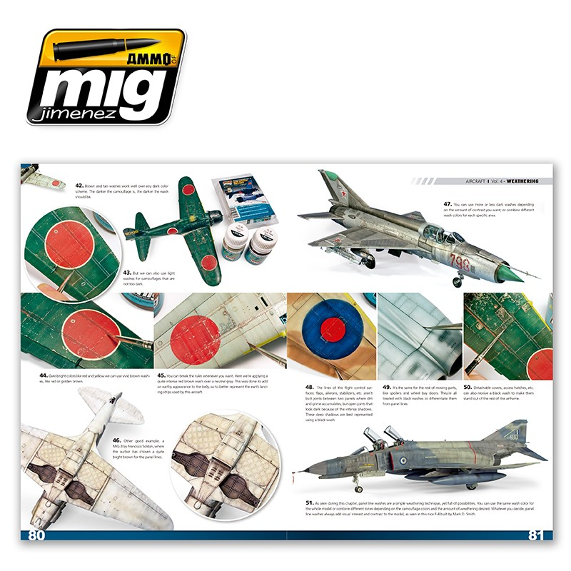 Ammo-of-Mig-Encyclopedia-of-aircraft-modelling-techniques-vol4-weathering-english-4 Encyclopedia of aircraft modelling techniques: WEATHERING