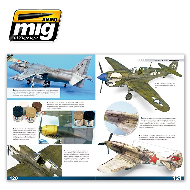 Ammo-of-Mig-Encyclopedia-of-aircraft-modelling-techniques-vol4-weathering-english-6 Encyclopedia of aircraft modelling techniques: WEATHERING