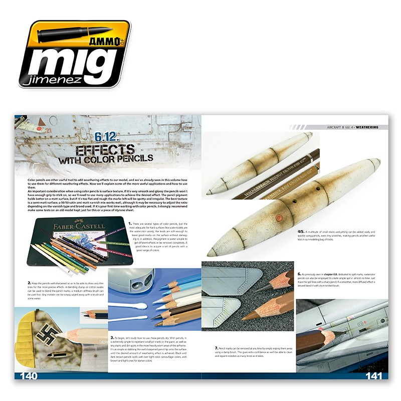Ammo-of-Mig-Encyclopedia-of-aircraft-modelling-techniques-vol4-weathering-english-7 Encyclopedia of aircraft modelling techniques: WEATHERING