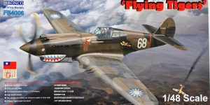 Curtiss P-40B Flying Tigers von Bronco (1:48 # FB 4006)