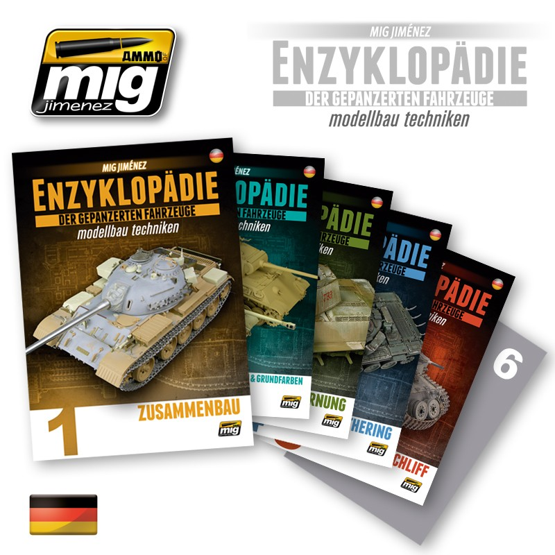 Encyclopedia-of-armour-modelling-techniques-Deutsch Mig Jimenez´ Enzyklopädie Panzermodellbau auf Deutsch!