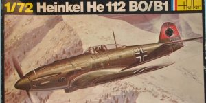 Kit-Archäologie: Heinkel He 112 von Heller im Maßstab 1:72