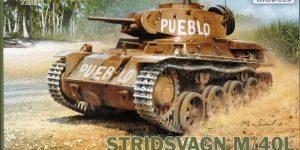 schwedischer Stridsvagn M40L von IBG im Maßstab1:72