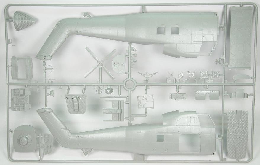Italeri_H-34G_UH34D_04 H-34G.III / UH-34J  -  Italeri 1/48  ---  No. 2712