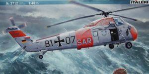 H-34G.III / UH-34J  –  Italeri 1/48  —  No. 2712