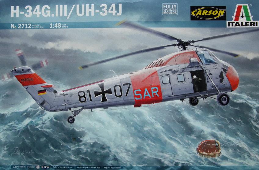 Italeri_H-34G_UH34D_27 H-34G.III / UH-34J  -  Italeri 1/48  ---  No. 2712