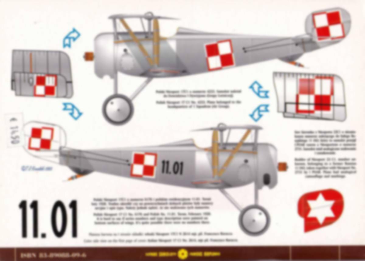Kagero-Nieuport-1-27-1 Nieuport-Bücher Teil 2: KAGERO Nieuport 1-27