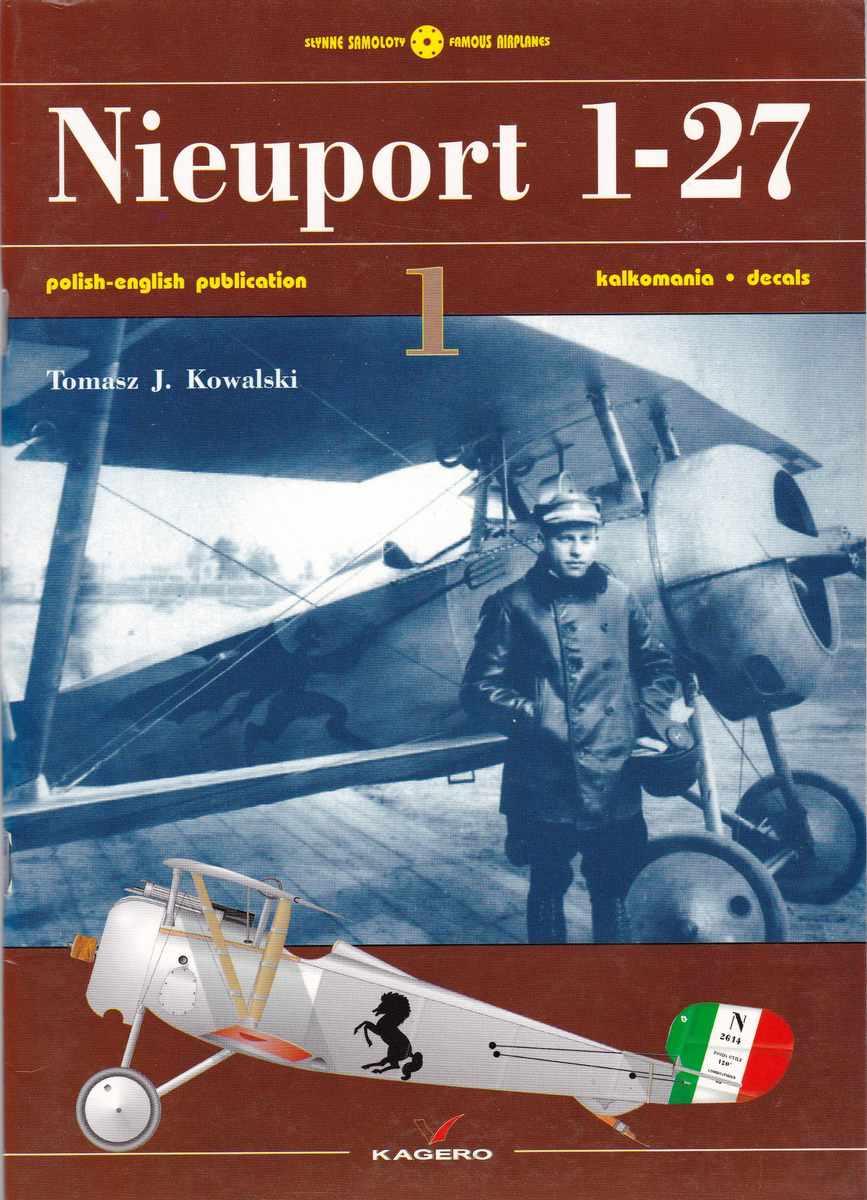 Kagero-Nieuport-1-27-3 Nieuport-Bücher Teil 2: KAGERO Nieuport 1-27