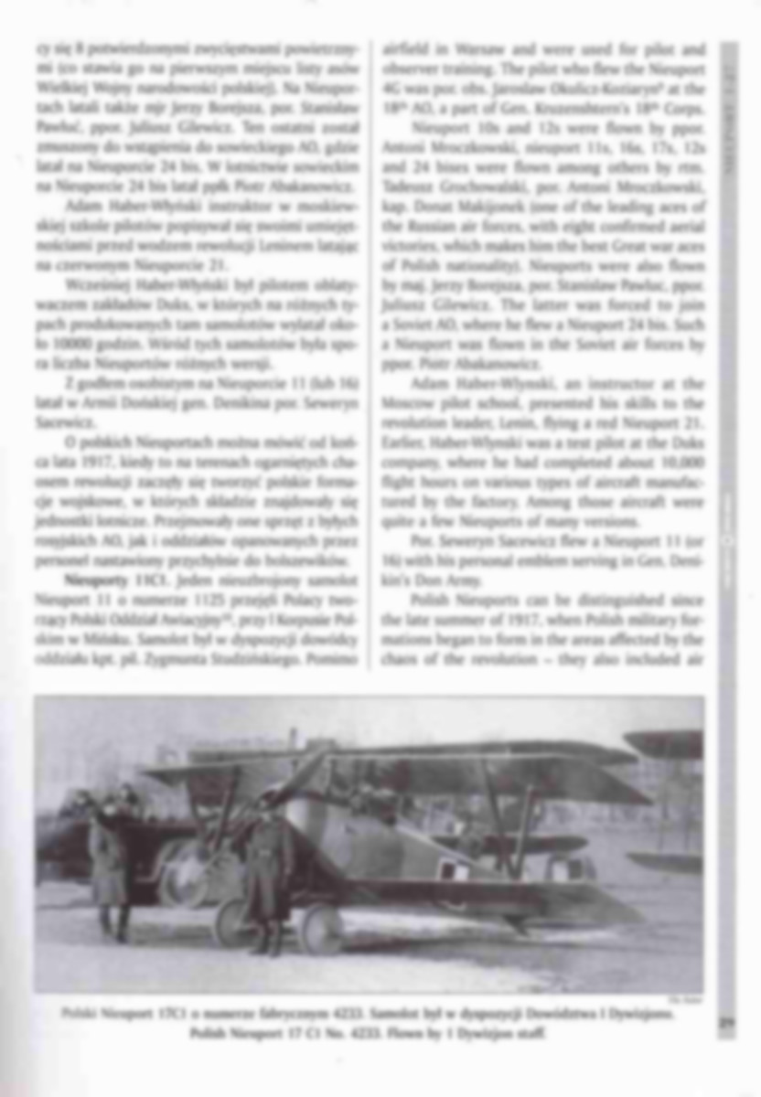 Kagero-Nieuport-1-27-6 Nieuport-Bücher Teil 2: KAGERO Nieuport 1-27