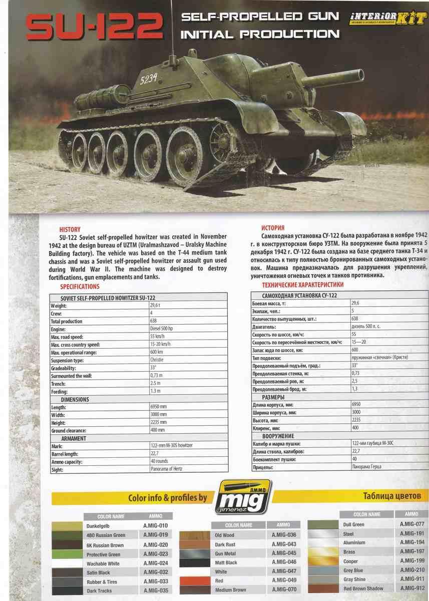 MiniArt-35175-Su-122-Bauanleitung-10 SU-122 Initial Production von MiniArt im Maßstab 1:35 (# 35175)