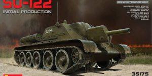 SU-122 Initial Production von MiniArt im Maßstab 1:35 (# 35175)