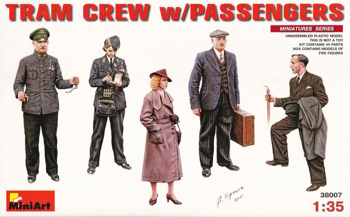 MiniArt-38007-Tram-Crew-with-passengers-5 Tram Crew with Passengers in 1:35 von MiniArt # 38007