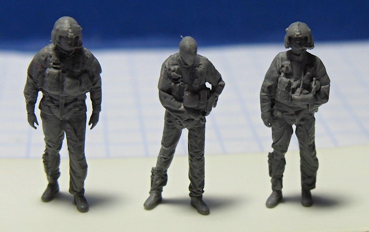 ReedOak-Figuren-1zu87-1 3D-gescannte Figuren im HO-Maßstab von Reedoak