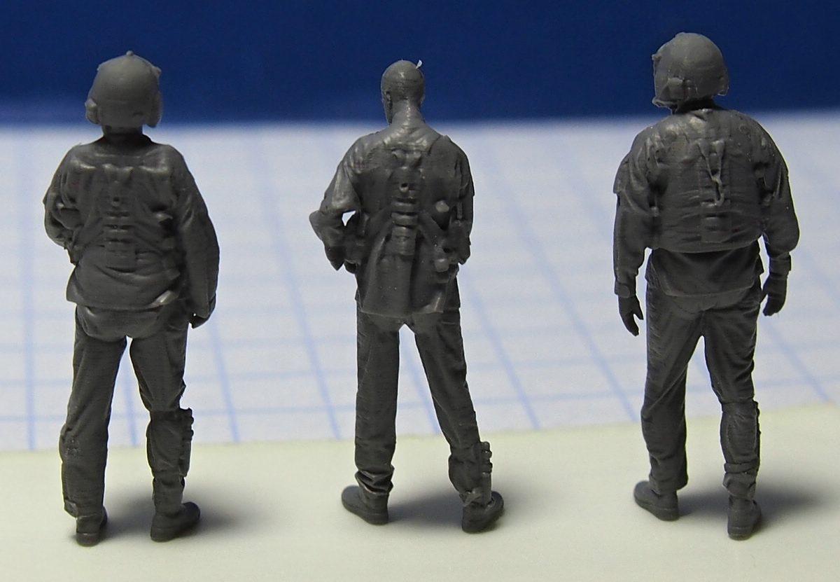 ReedOak-Figuren-1zu87-2 3D-gescannte Figuren im HO-Maßstab von Reedoak