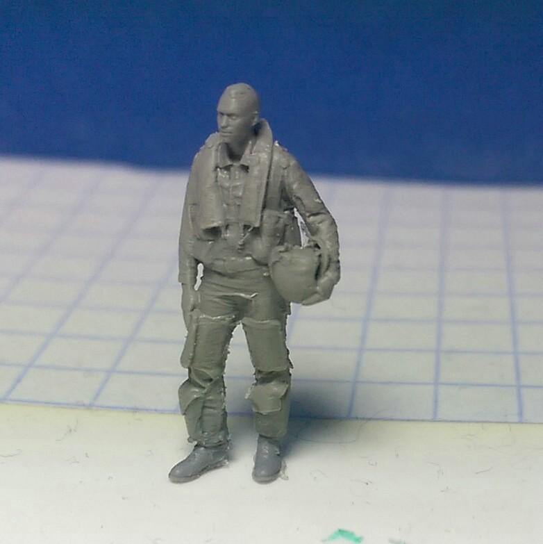 ReedOak-Figuren-1zu87-4 3D-gescannte Figuren im HO-Maßstab von Reedoak