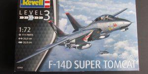 F-14D Super Tomcat von Revell im Maßstab 1:72 (# 03960 )