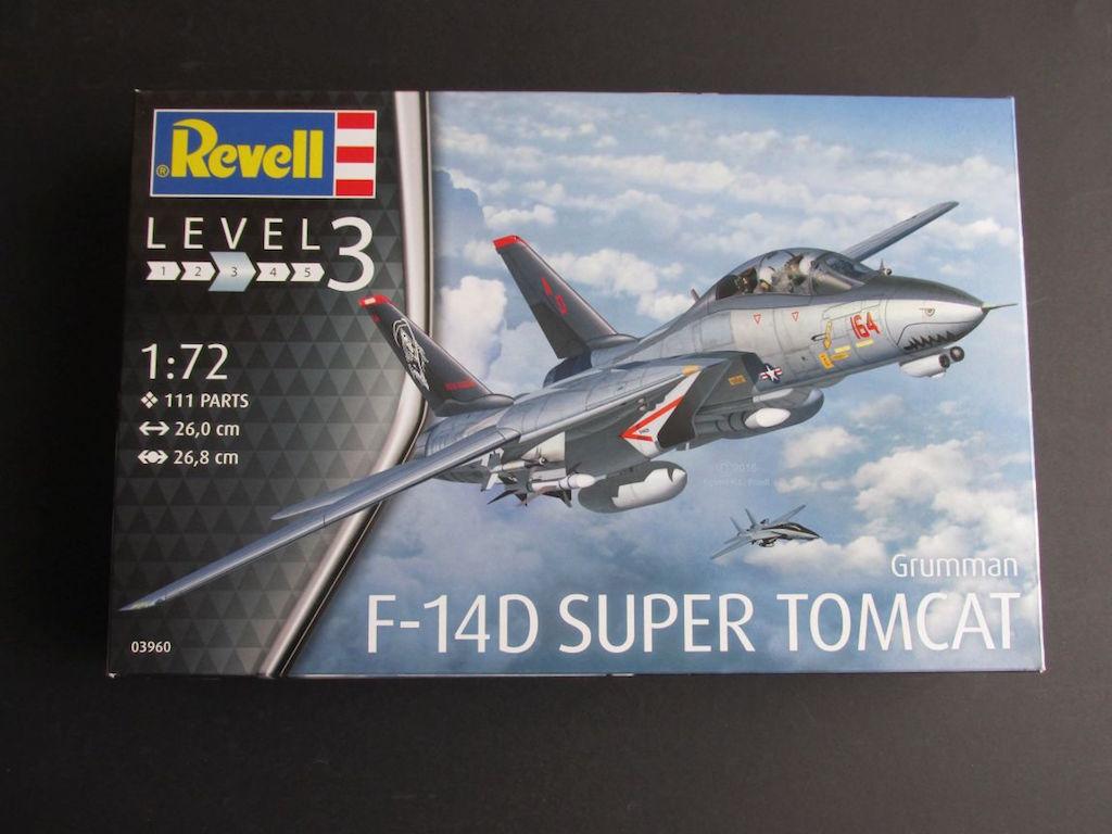 Revell-03960-F-14D-Super-Tomcat-1 F-14D Super Tomcat von Revell im Maßstab 1:72 (# 03960 )