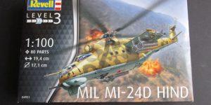 Mil Mi-24 Hind D im Maßstab 1:100 von Revell ( # 04981 )