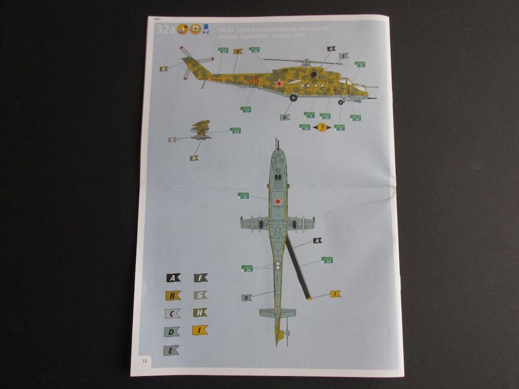 Revell-04951-Mi-24-Hind-D-4 Mil Mi-24 Hind D im Maßstab 1:100 von Revell ( # 04981 )