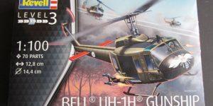 Bell UH-1D von Revell im Maßstab 1:100 ( # 04983 )