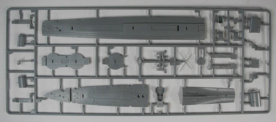Revell-05141-German-Destroyer-Type-1936-14 Kriegsmarine Zerstörer Typ 1936 von Revell im Maßstab 1:350( # 05141)