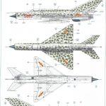 22-1-150x150 Sound of Silence ( MiG-21 und Skyhawk) 1:48 Eduard