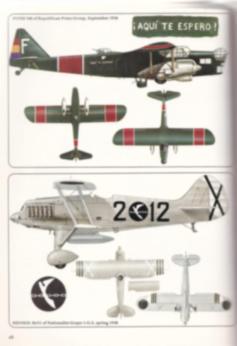 Aircam-Airwar-3-Spanish-Civil-War-Air-Forces.4 Aircam / Airwar Spanish Civil War Air Forces