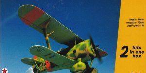 Polikarpov I-15bis von Armory im Maßstab 1:144 (#