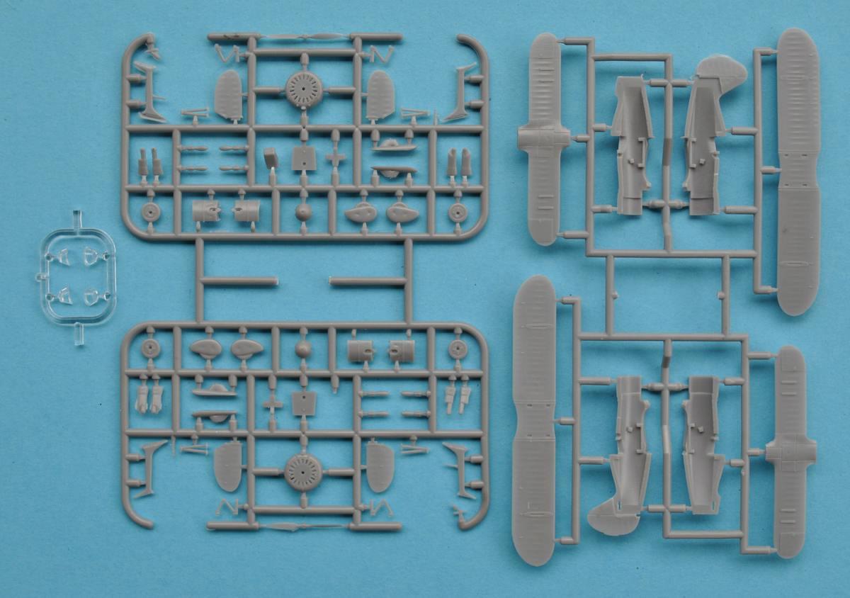 Armory-14101-Polikarpov-I-15bis-7 Polikarpov I-15bis von Armory im Maßstab 1:144 (#