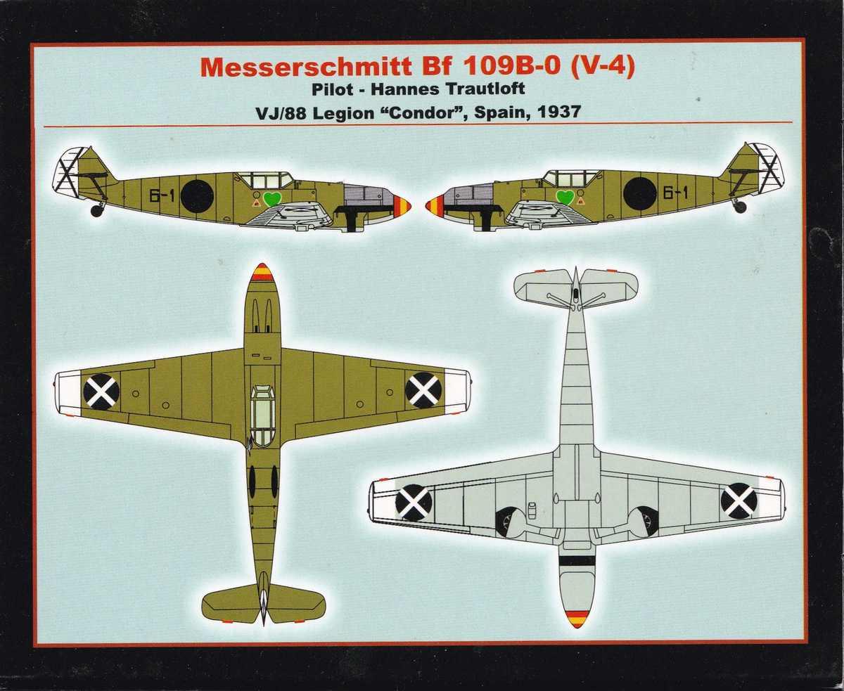 Armory-14104-Messerschmitt-Bf-109-A-B-1 Messerschmitt Bf 109 A/B im Maßstab 1:144 von Armory (# )