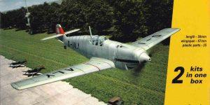 Messerschmitt Bf 109 A/B im Maßstab 1:144 von Armory (# )