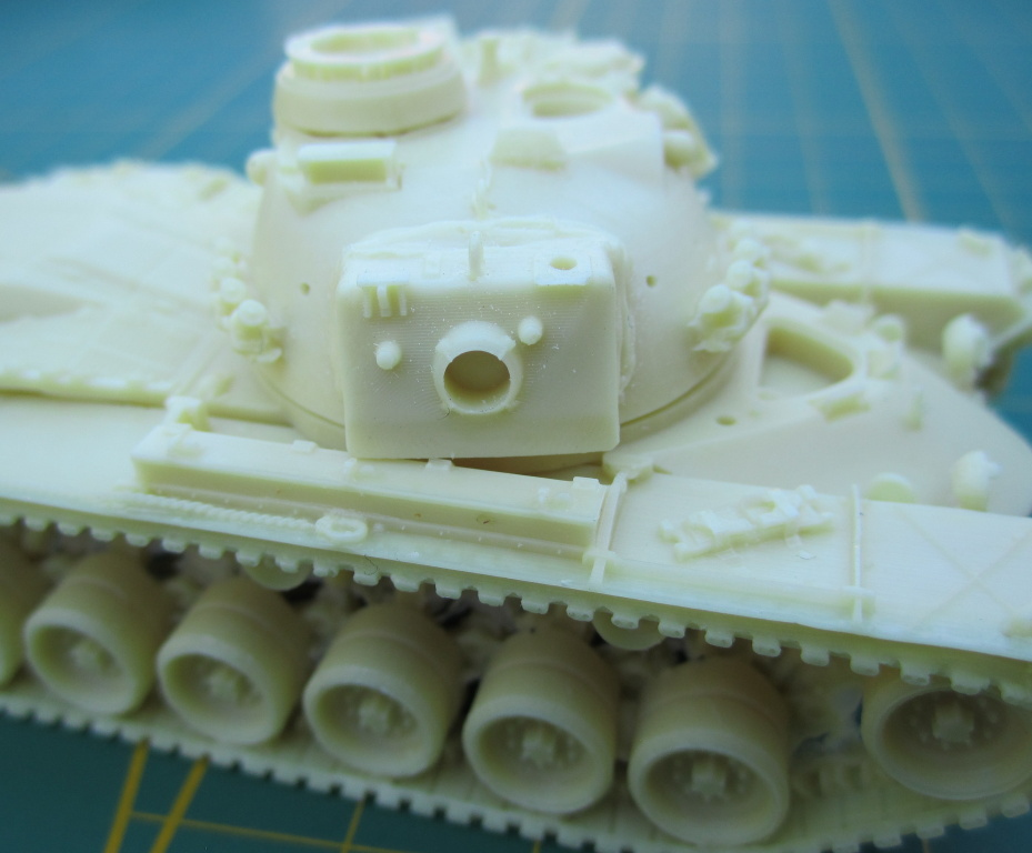 Artitec1870022-M48A2GA2-10 Kampfpanzer M48A2GA2 von Artitec 1:87 ( # 1870022 )