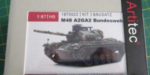Kampfpanzer M48A2GA2 von Artitec 1:87 ( # 1870022 )