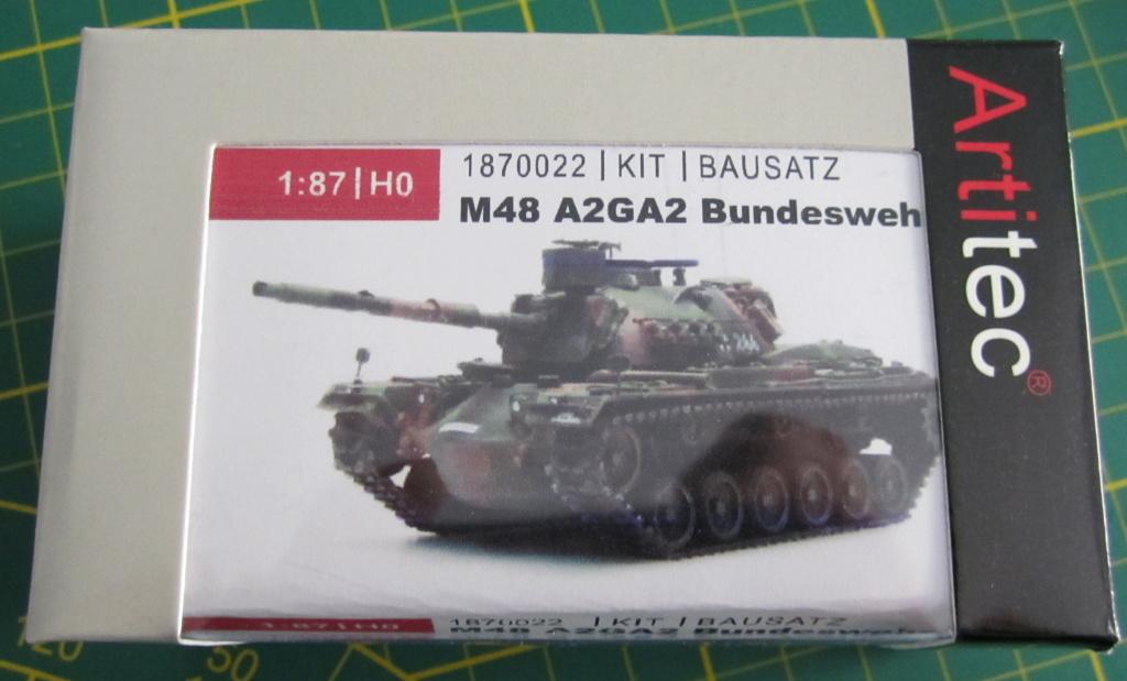 Artitec1870022-M48A2GA2-16 Kampfpanzer M48A2GA2 von Artitec 1:87 ( # 1870022 )