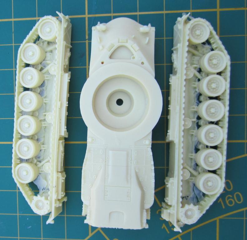 Artitec1870022-M48A2GA2-4 Kampfpanzer M48A2GA2 von Artitec 1:87 ( # 1870022 )