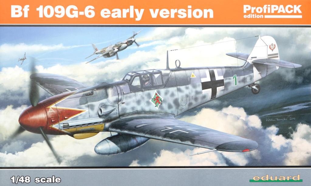 BF109G6-Early Bf 109 G-6 early version Eduard 1:48 (82113)