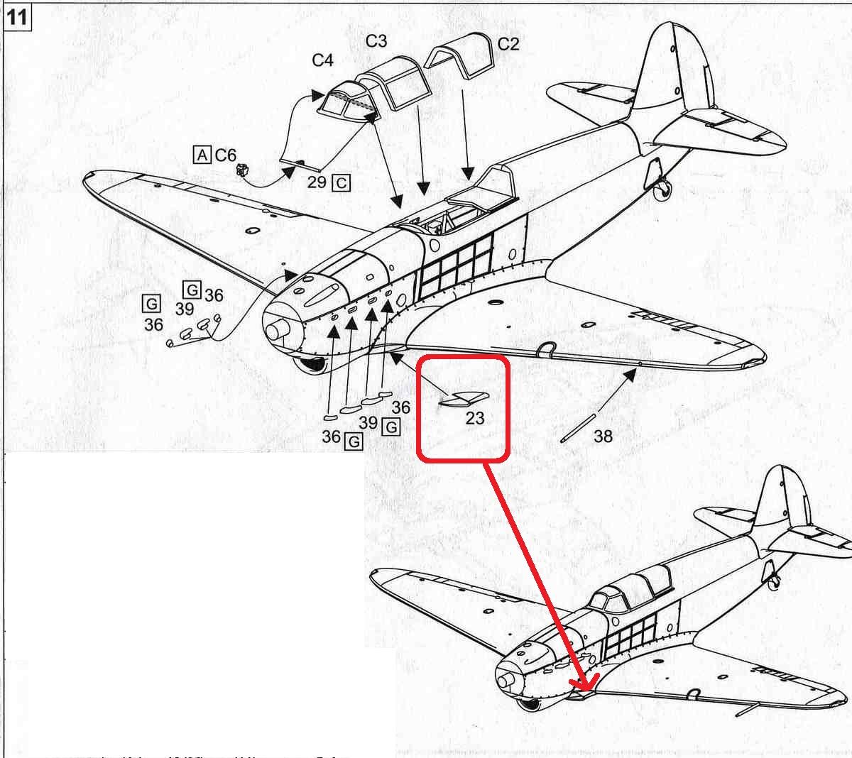 BrenGun-BRP-72020-Yak-1-1941-fehlender-Lufteinlauf-2 Yak-1 Year 1941 von Brengun im Maßstab 1:72 ( BRP72020 )