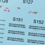 Decals-1-1-150x150 Sound of Silence ( MiG-21 und Skyhawk) 1:48 Eduard