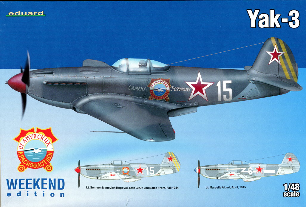 Eduard_Yak-3_WE_2016_10 Yak-3 - Eduard Weekend Edition 1/48 --- #8457