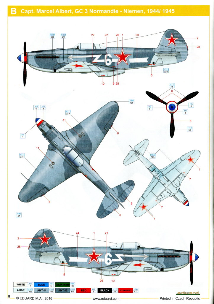 Eduard_Yak-3_WE_2016_20 Yak-3 - Eduard Weekend Edition 1/48 --- #8457