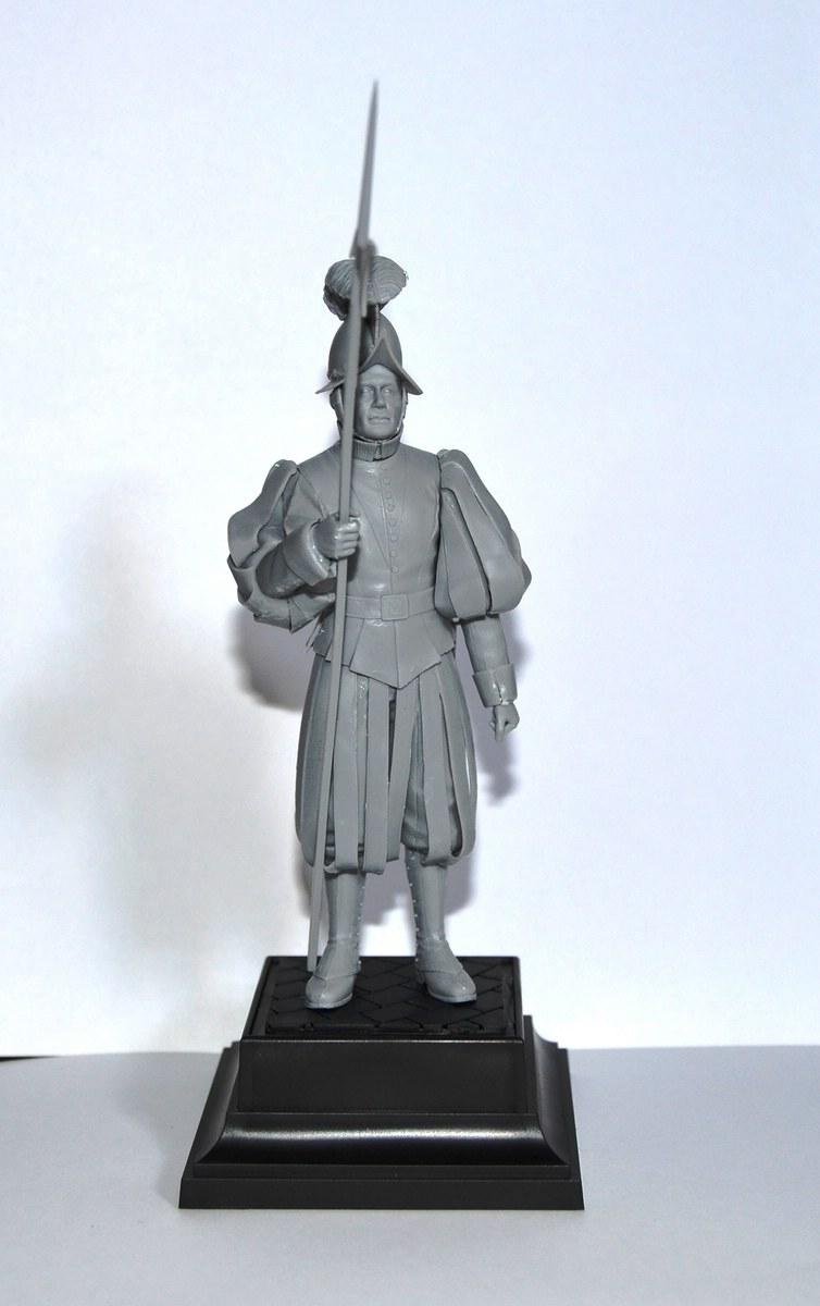 ICM-16002-Vatikan-Swiss-Guard-1 Vatican Swiss Guard von ICM im Maßstab 1:16 (# 16002)