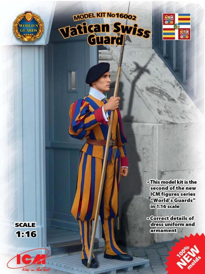 ICM-16002-Vatikan-Swiss-Guard Vatican Swiss Guard von ICM im Maßstab 1:16 (# 16002)