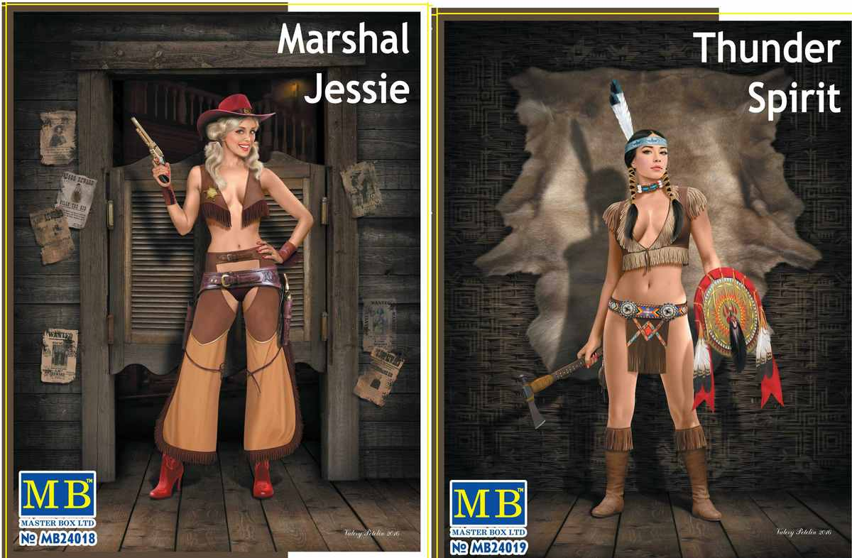 MasterBox 24018 und 24019 Kombibild