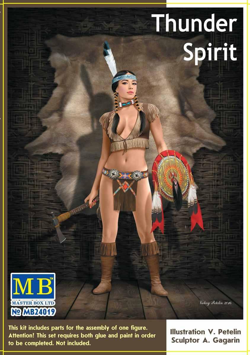 """MasterBox-24019-Thunder-Spirit-5 """"Marshall Jessie"""" und """"Thunder Spirit"""" von MasterBox ( 1:24)"""