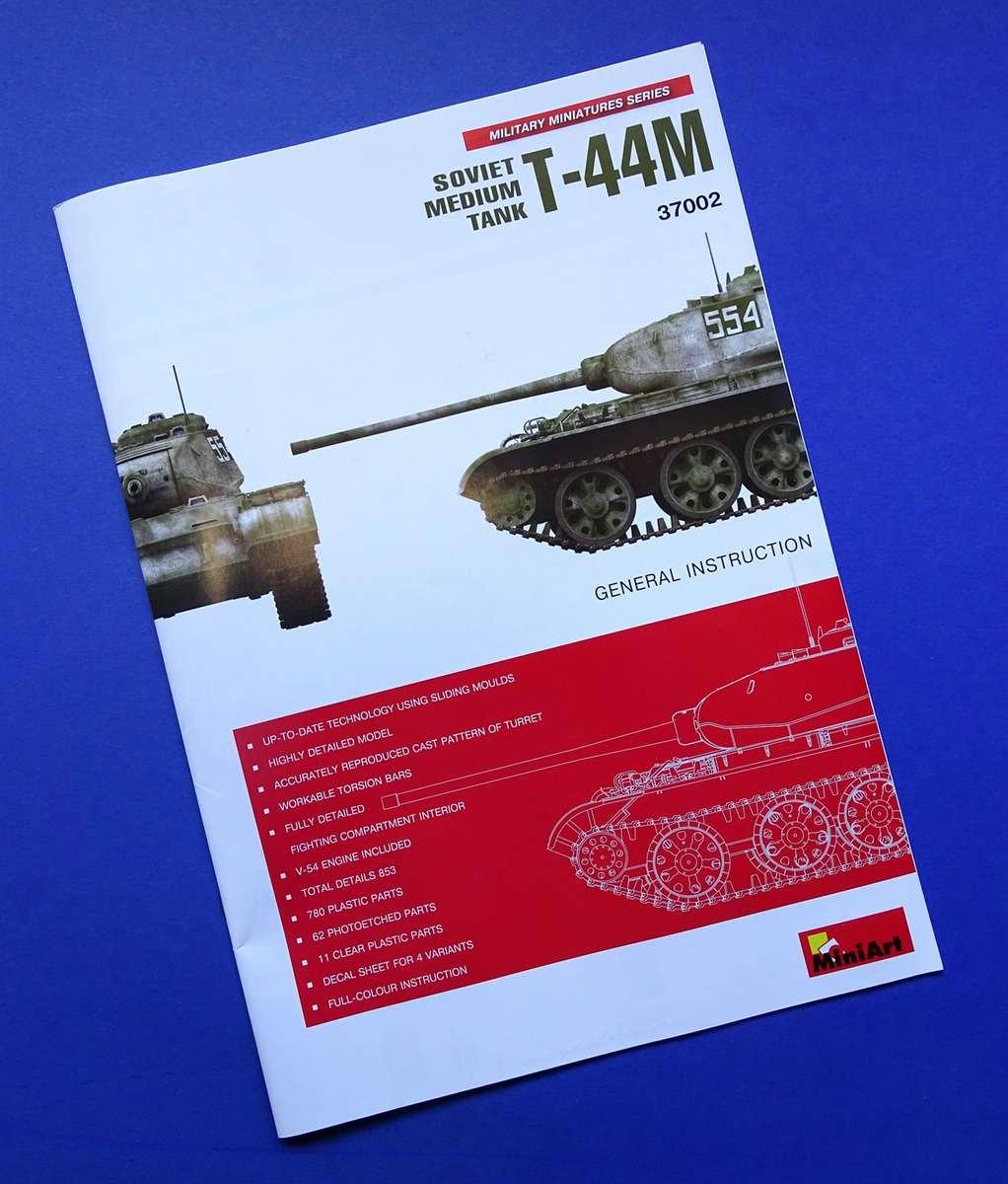 MiniArt-37002-T-44M-1 T-44M von Mini Art (1:35 # 37002)